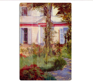 House in Rueil by Edouard Manet HD Metal Print
