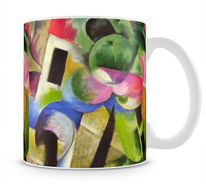 House with trees by Franz Marc Mug - Canvas Art Rocks - 1