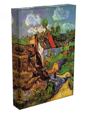 Houses in Auvers by Van Gogh Canvas Print & Poster - Canvas Art Rocks - 3