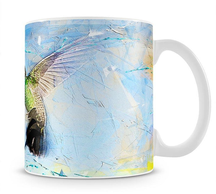 Humming Bird Painting Mug