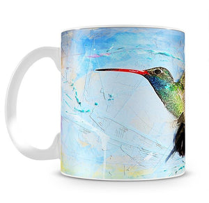 Humming Bird Painting Mug - Canvas Art Rocks - 2