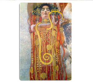 Hygeia by Klimt HD Metal Print