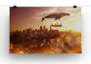 I belive i can fly Canvas Print or Poster - Canvas Art Rocks - 2