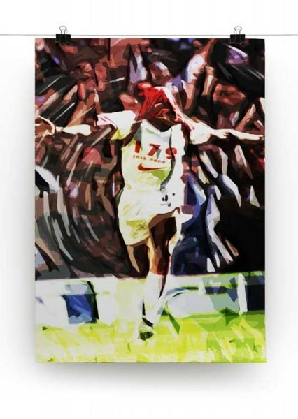 Ian Wright Just Done It Print - Canvas Art Rocks - 2