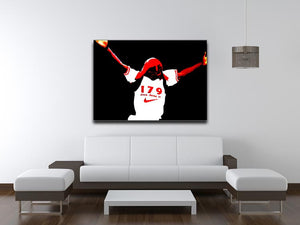 Ian Wright Print - Canvas Art Rocks - 4