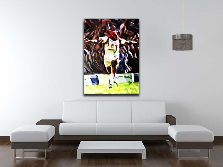 Ian Wright Just Done It Canvas Print or Poster