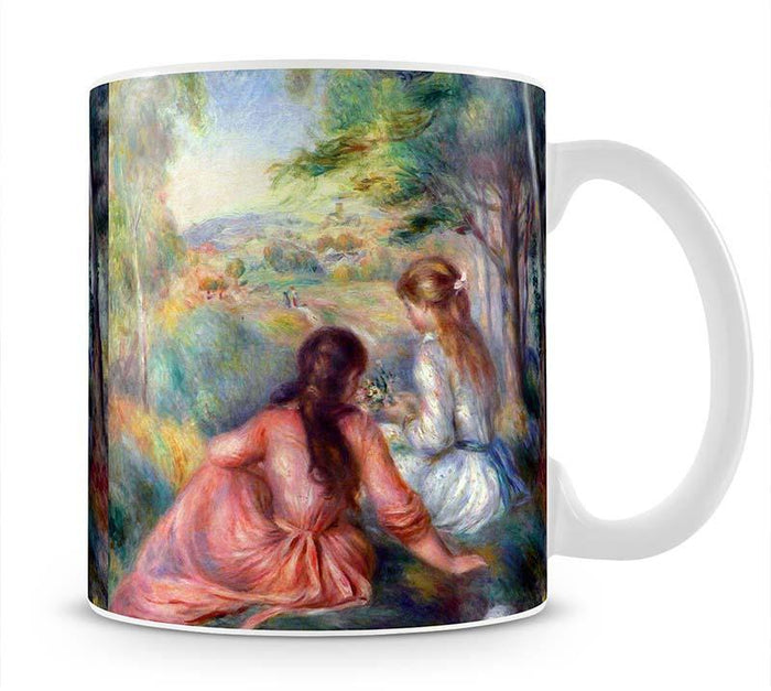 In the meadow by Renoir Mug