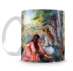 In the meadow by Renoir Mug - Canvas Art Rocks - 2