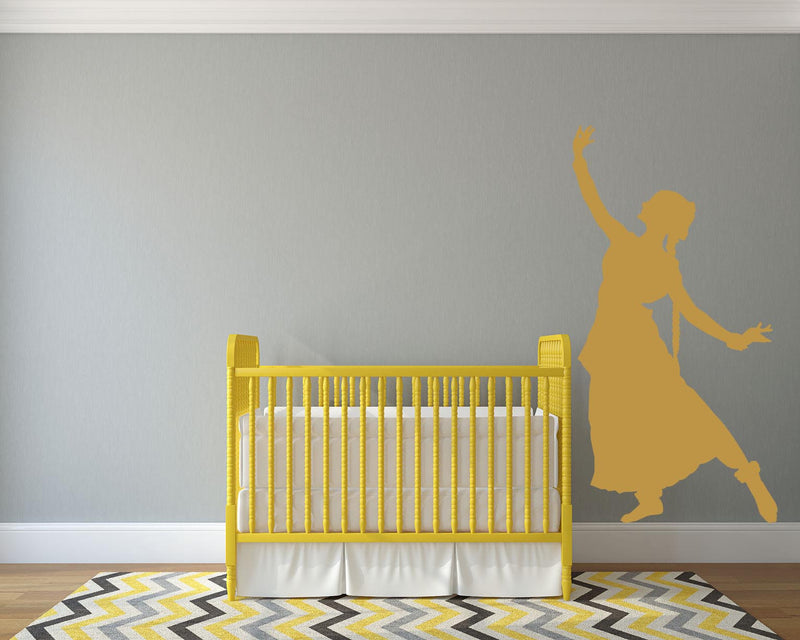 Indian Dancer Wall Decal