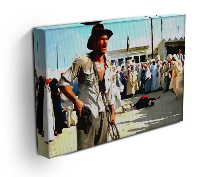 Indiana Jones Print - Canvas Art Rocks - 3