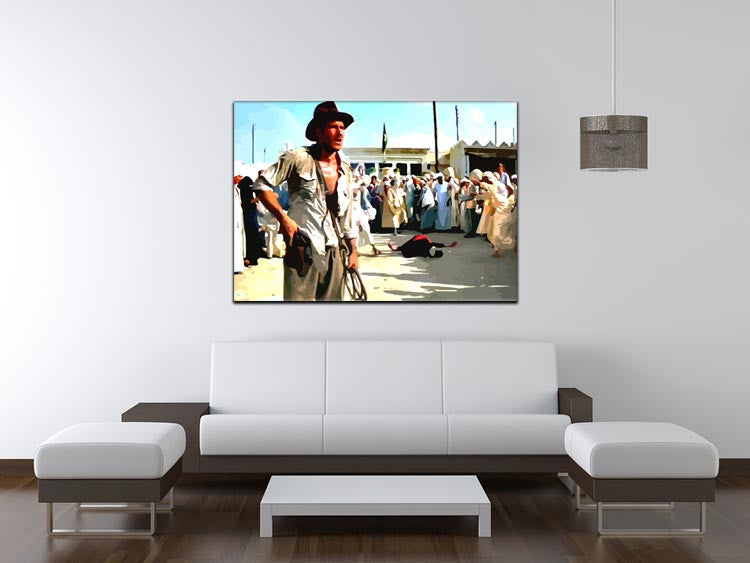 Indiana Jones Print - Canvas Art Rocks - 4