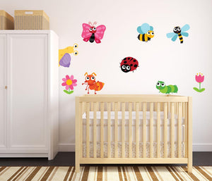 Insect Wall Decal Set - US Canvas Art Rocks