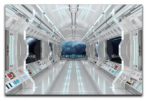 Inside Space Shuttle Canvas Print or Poster  - Canvas Art Rocks - 1