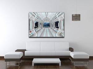 Inside Space Shuttle Canvas Print or Poster - Canvas Art Rocks - 4