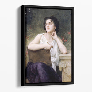 Inspiration By Bouguereau Floating Framed Canvas