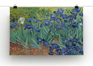 Irises Canvas Print & Poster - Canvas Art Rocks - 2