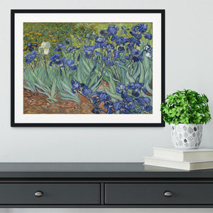 Irises by Van Gogh Framed Print - Canvas Art Rocks - 1