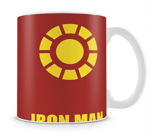 Iron Man Minimal Movie Mug - Canvas Art Rocks - 1