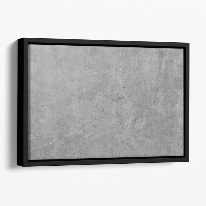 It is Cement Floating Framed Canvas