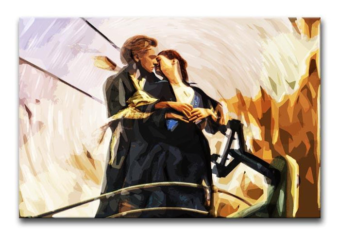 Titanic Jack And Rose Canvas Print or Poster