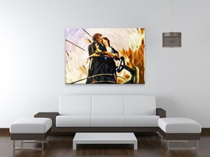 Titanic Jack & Rose Canvas Print - Canvas Art Rocks - 4