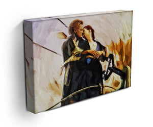 Titanic Jack & Rose Canvas Print - Canvas Art Rocks - 3