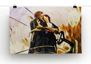 Titanic Jack & Rose Canvas Print - Canvas Art Rocks - 2