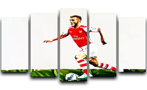 Jack Wilshere 5 Split Panel Canvas  - Canvas Art Rocks - 1