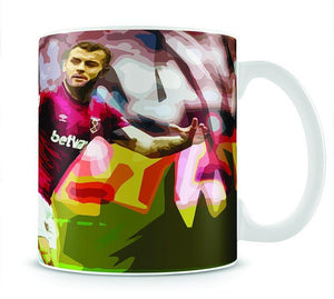 Jack Wilshere West Ham Mug - Canvas Art Rocks - 1