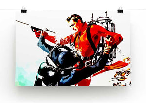 James Bond Thunderball Print - Canvas Art Rocks - 2