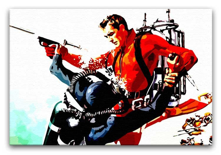 James Bond Thunderball Print - Canvas Art Rocks - 1
