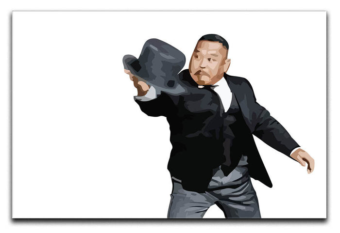 Oddjob from James Bond Canvas Print or Poster