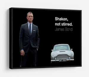James Bond Shaken Not Stirred HD Metal Print