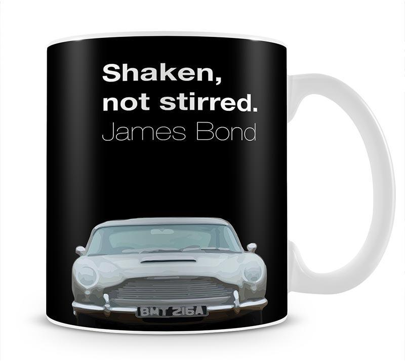 James Bond Shaken Not Stirred Cup - Canvas Art Rocks - 1