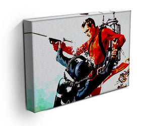 James Bond Thunderball Canvas Print & Poster - US Canvas Art Rocks