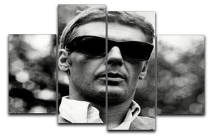 James Fox 4 Split Panel Canvas  - Canvas Art Rocks - 1
