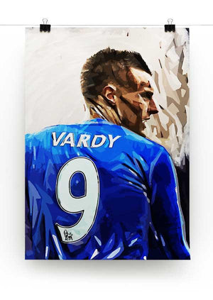 Jamie Vardy Print - Canvas Art Rocks - 2
