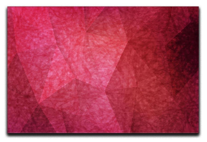 Japanese paper red background Canvas Print or Poster