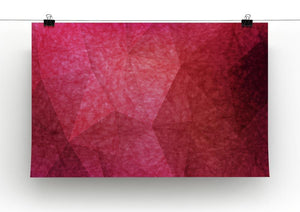 Japanese paper red background Canvas Print or Poster - Canvas Art Rocks - 2