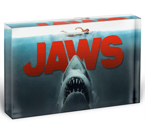Jaws Acrylic Block - Canvas Art Rocks - 1