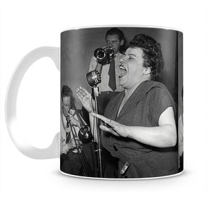 Jazz singer Mug - Canvas Art Rocks - 1