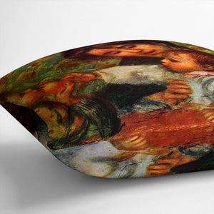 Jean Renoir and Gabrielle by Renoir Throw Pillow