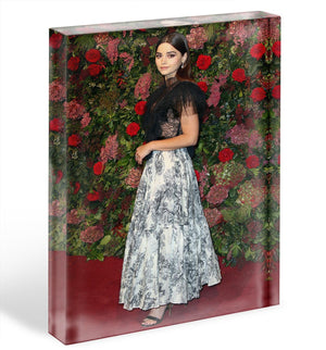 Jenna Coleman on the red carpet Acrylic Block - Canvas Art Rocks - 1