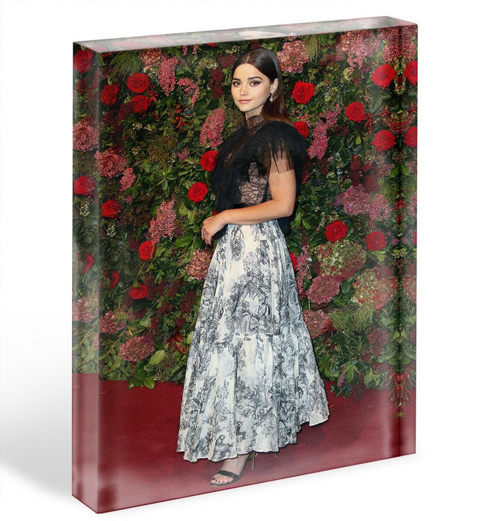 Jenna Coleman on the red carpet Acrylic Block
