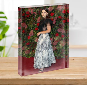 Jenna Coleman on the red carpet Acrylic Block - Canvas Art Rocks - 2