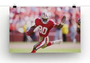 Jerry Rice San Francisco Canvas Print - Canvas Art Rocks - 2
