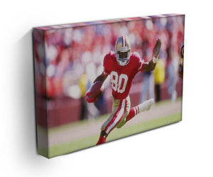 Jerry Rice San Francisco Canvas Print - Canvas Art Rocks - 3