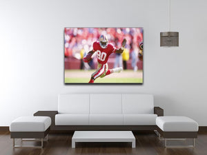 Jerry Rice San Francisco Canvas Print - Canvas Art Rocks - 4