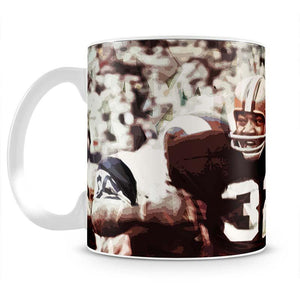 Jim Brown Cleveland Browns Mug - Canvas Art Rocks - 2