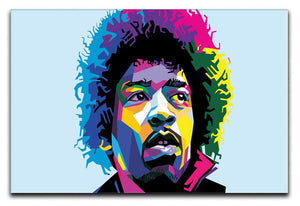 Jimi Hendrix Pop Art Print - Canvas Art Rocks - 1